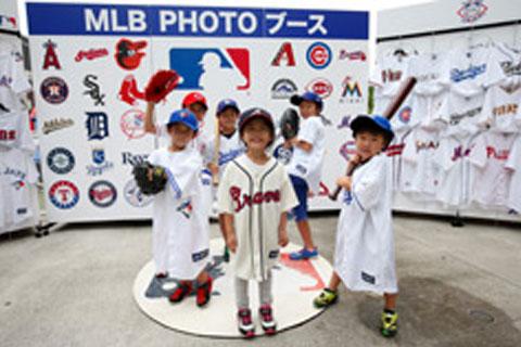 MLB PHOTO ブース